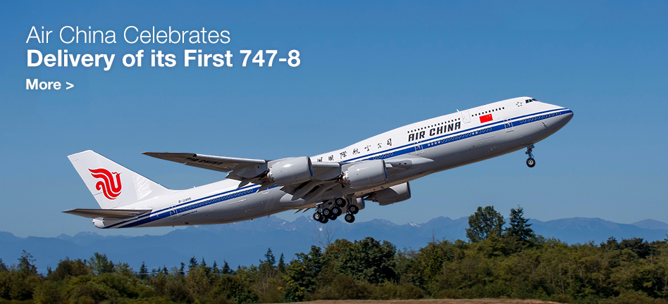 Air China Celebrates Delivery of its Frst 747-8